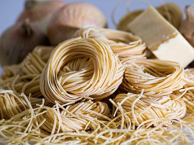 Pasta och parmesan
